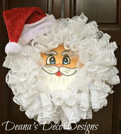 free instructions on how to make mesh christmas wreaths