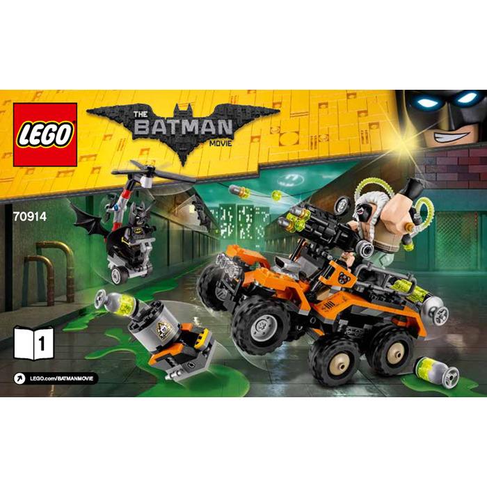 lego batman bane instructions