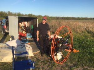 powered paragliding instruction ontario