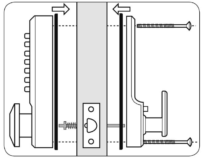 taper lock bolts installation instructions