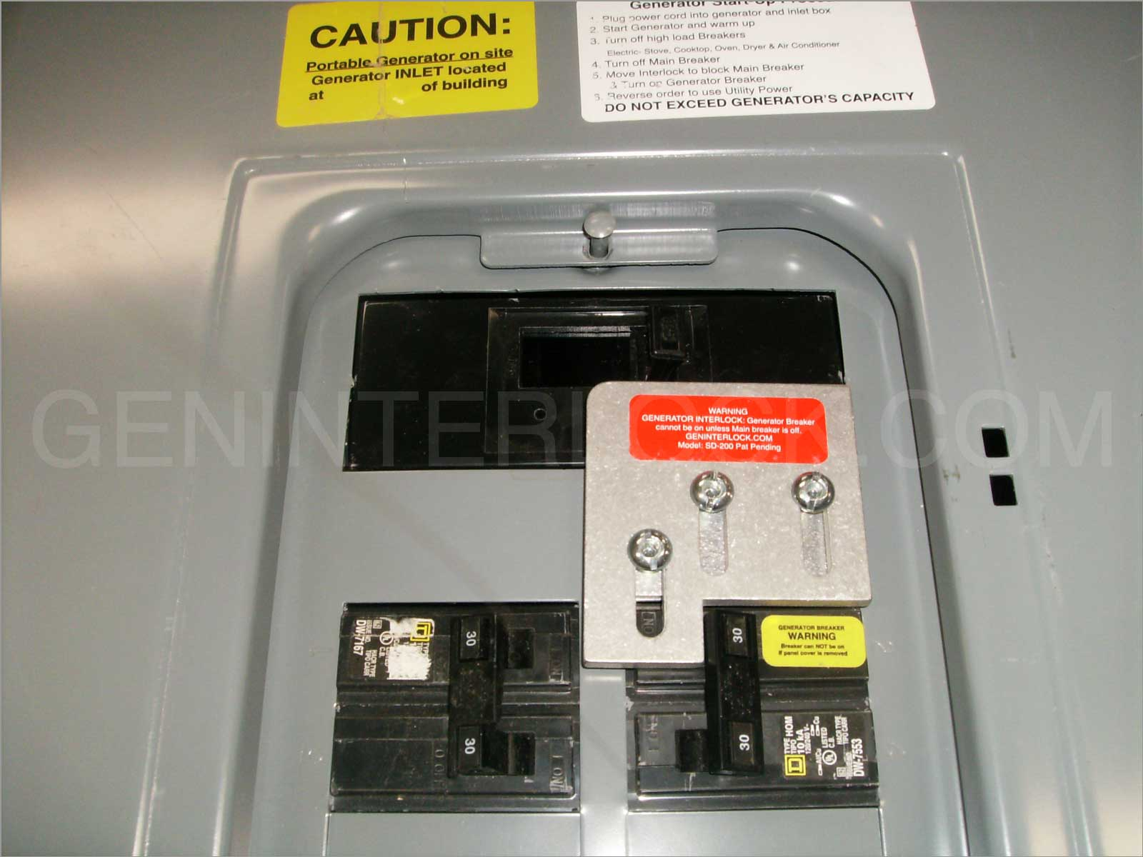 siemens 100 amp panel instructions