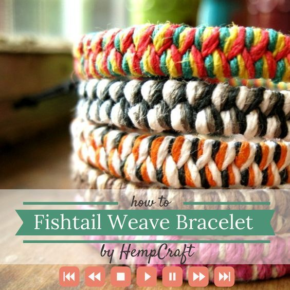 macrame hemp bracelet instructions