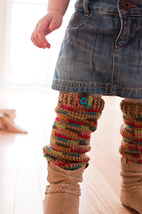 baby leg warmers instructions
