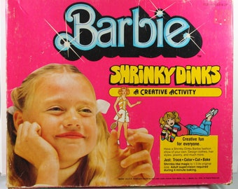 barbie shrinky dinks instructions