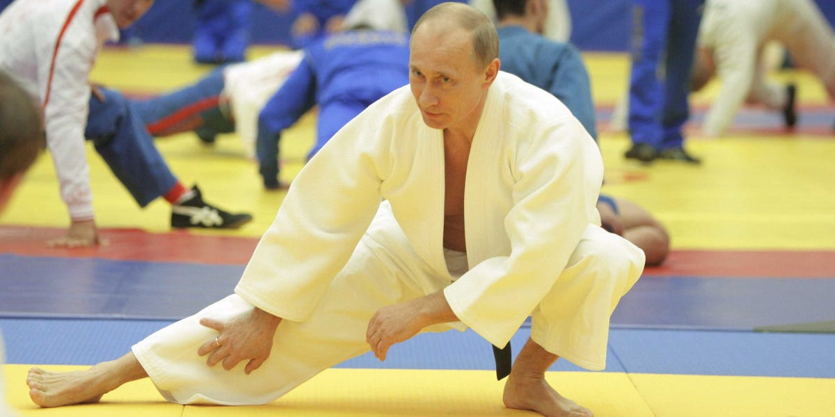 putin judo instructional video