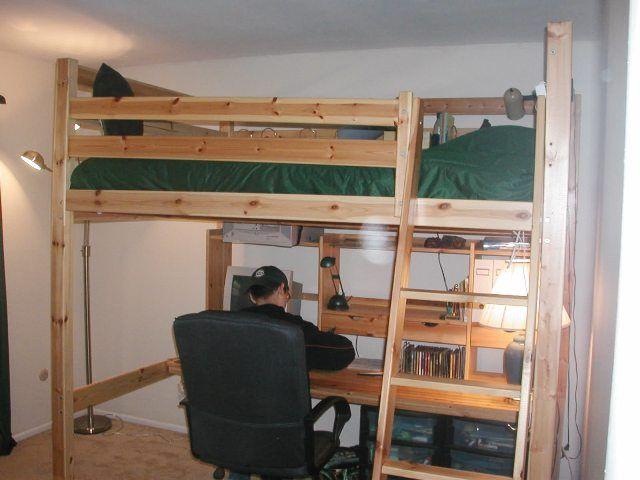 fjelldal loft bed instructions