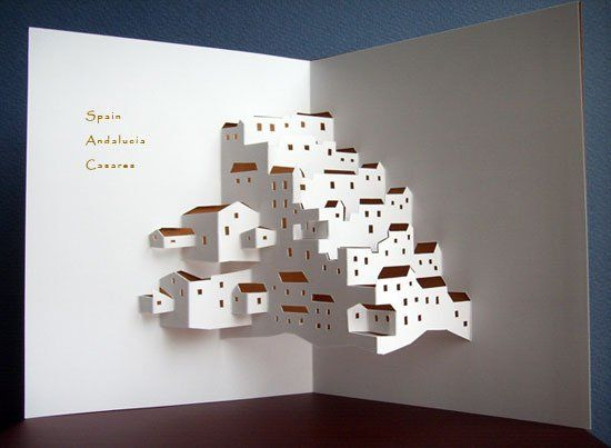 pop up paper art instructions
