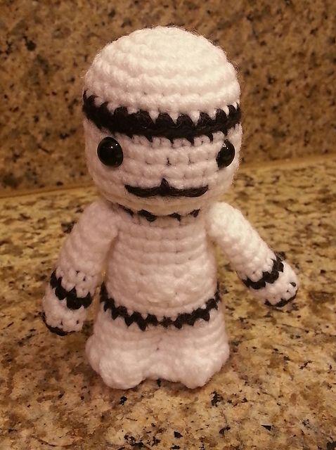 star wars crochet stormtrooper instruction