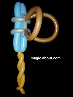 balloon twisting sword instructions
