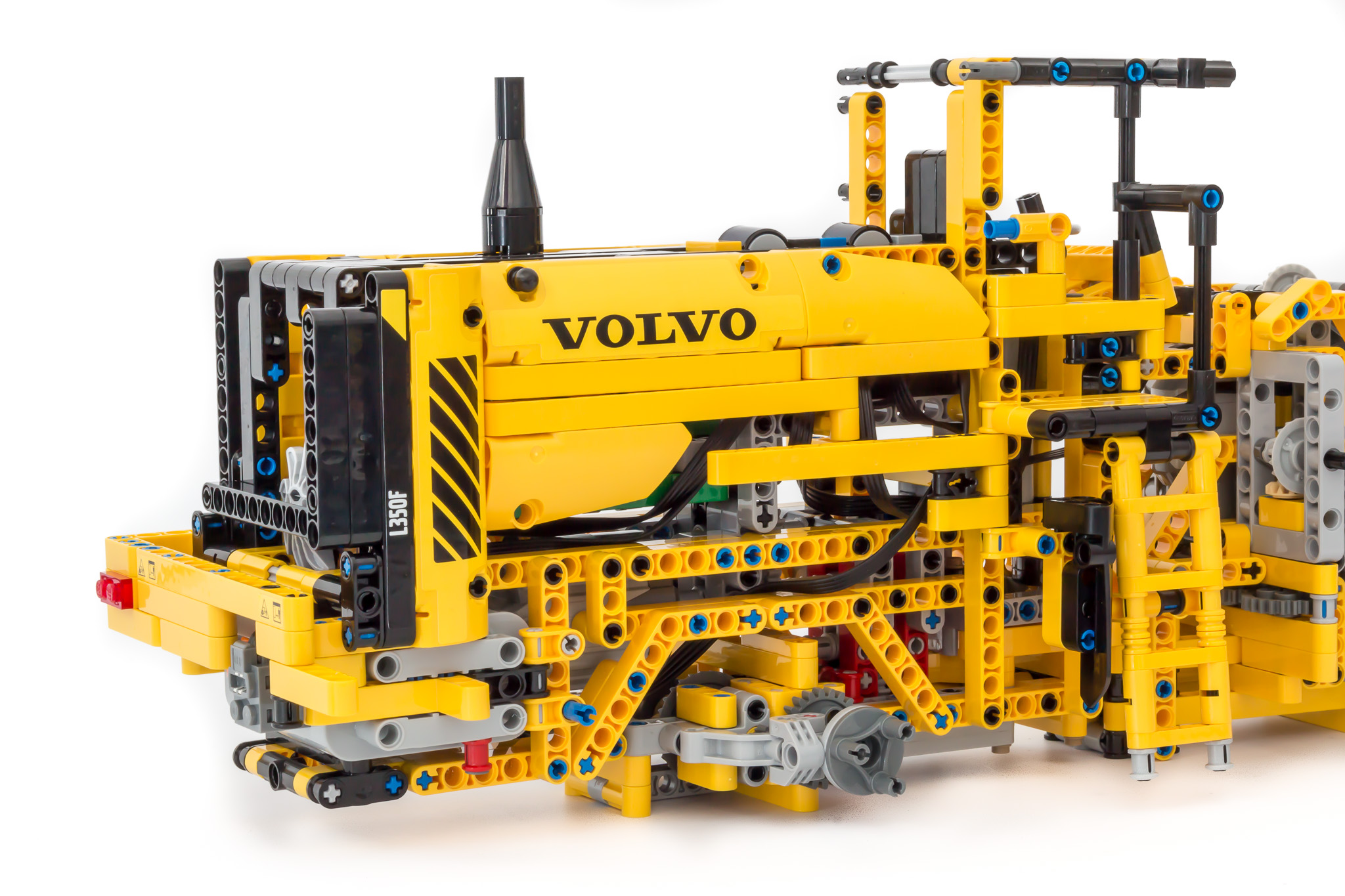 lego technic volvo front loader instructions