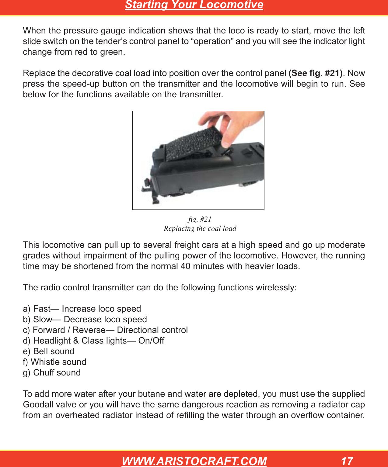 rc car instruction manual