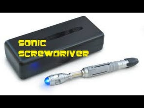 10th doctor sonic screwdriver universal remote instructions