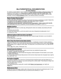 mla format papers step-by-step instructions for writing research essays