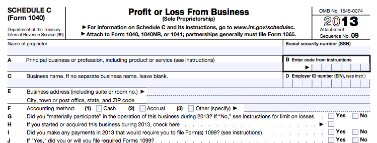 irs 1040 filing instructions 2013