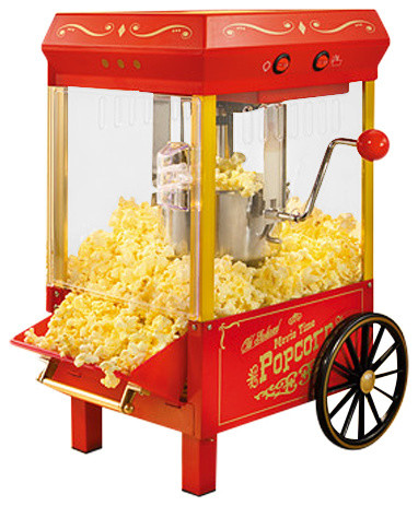 50s style hot air popcorn popper instructions