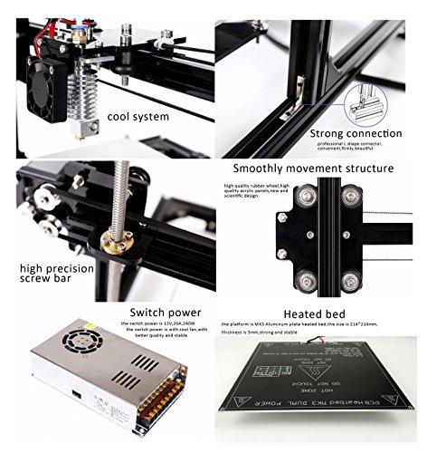 persa i3 3d printer diy kit instructions