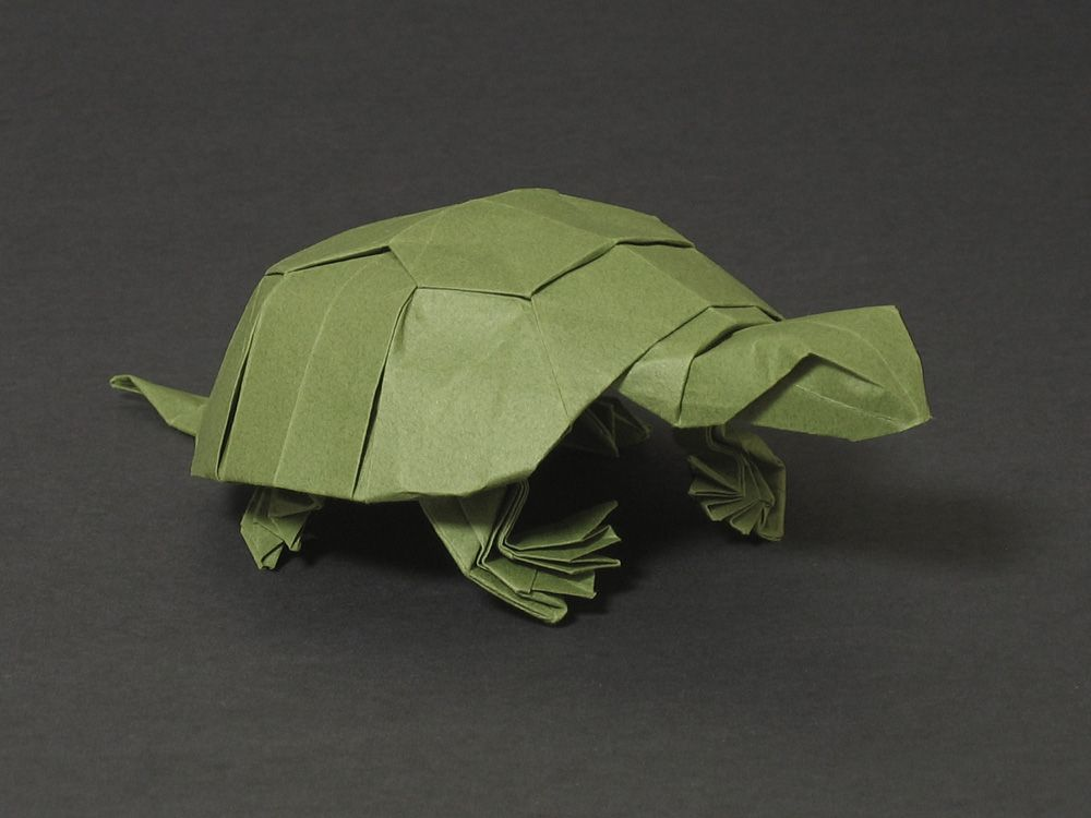origami turtle printable instructions