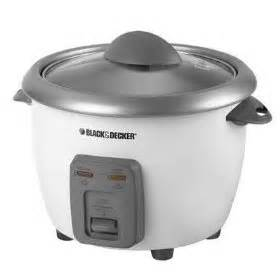 how to use black and decker rice cooker instructions
