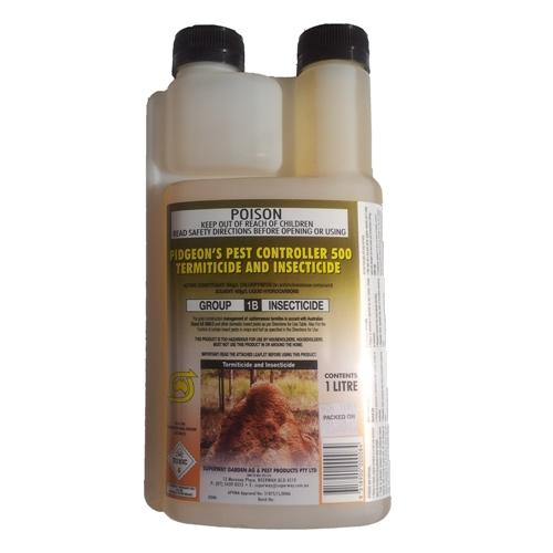 pigeons pest controller 500 termiticide and insecticide instructions