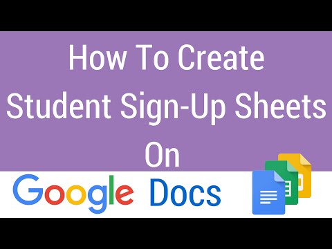 how to make a google site instruction