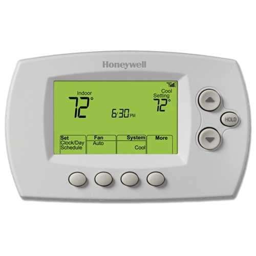 instructions to operate honeywell thermostat sku honth2iiodv1008 u