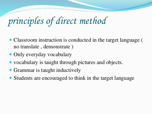 the army method of language instruction