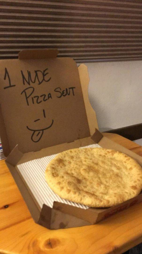what to put for special instructions for pizza delivery