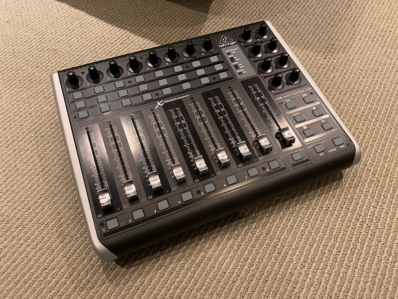 behringer x-touch compact instructions