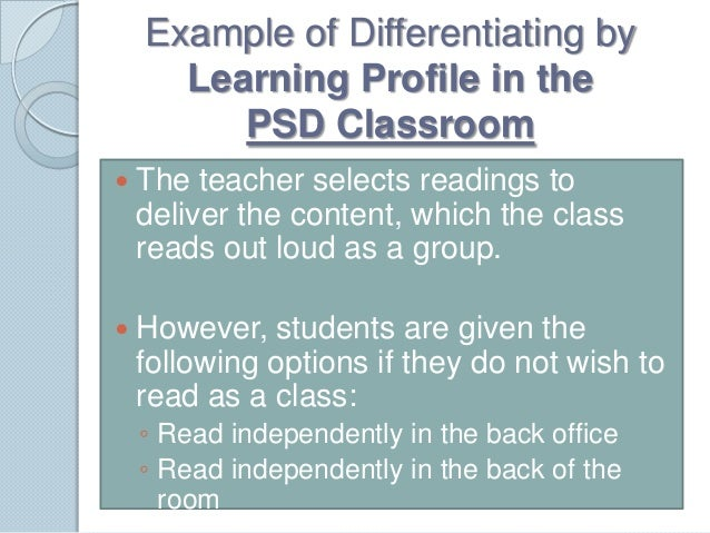 principles of differentiated instruction tomlinson