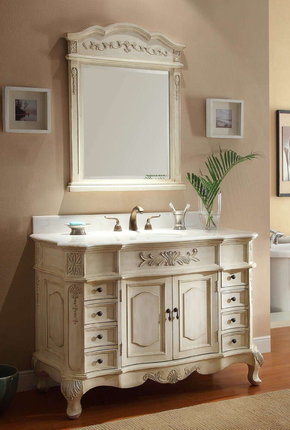 classic designs 36-inch vanity cabinet with top instructions