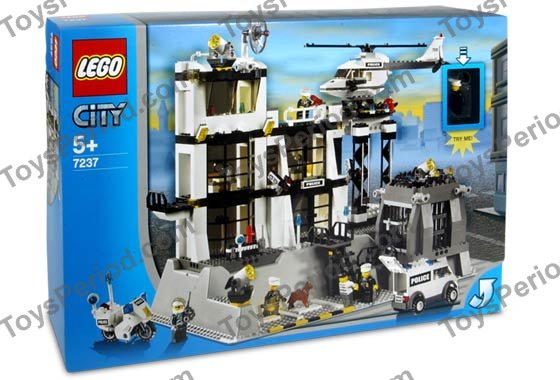 lego police station instructions 10675