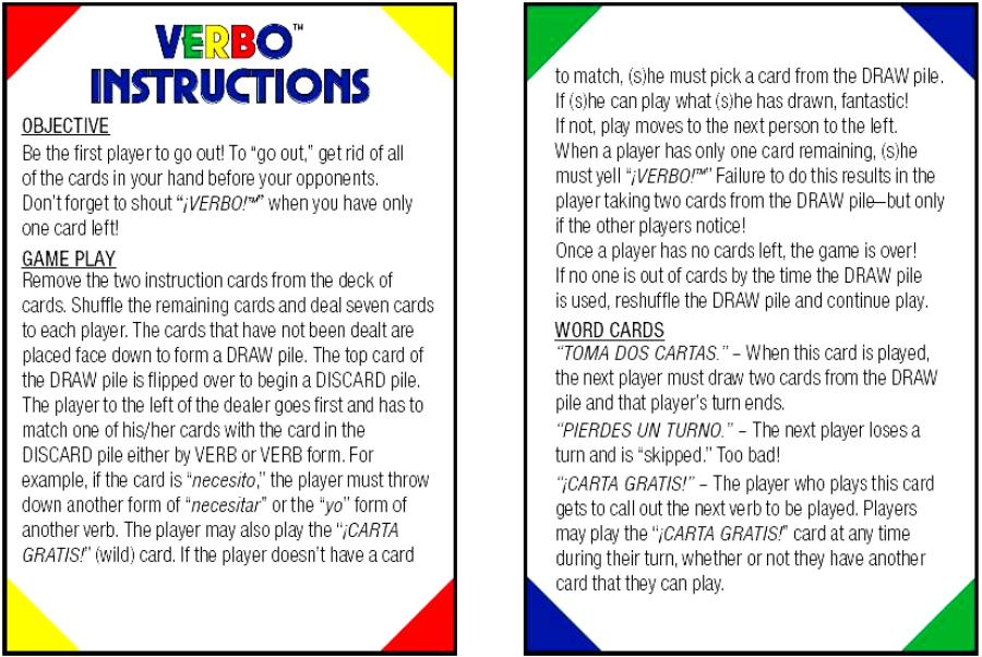 uno card game instructions in english