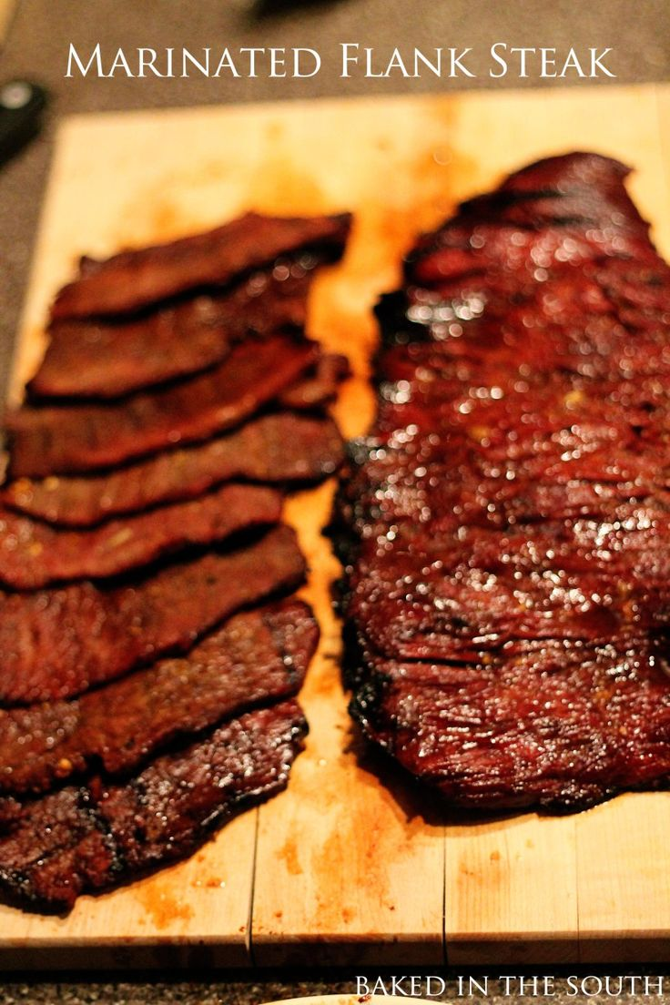 flank steak bbq instructions