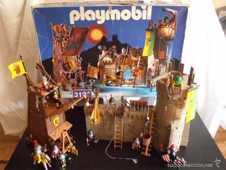 playmobil castle assault 3123 instructions