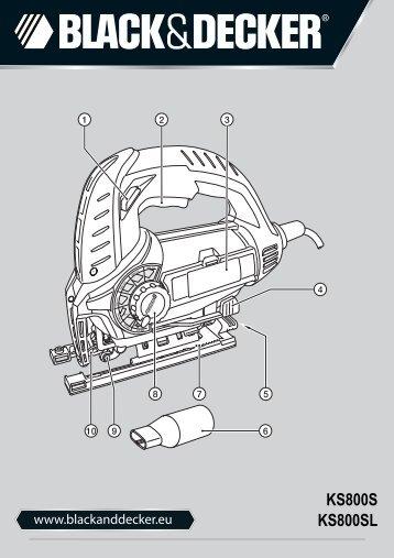 black & decker 79-368 manuel instructions