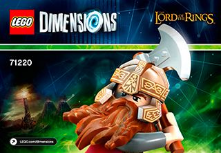 lego dimensions instructions 71222