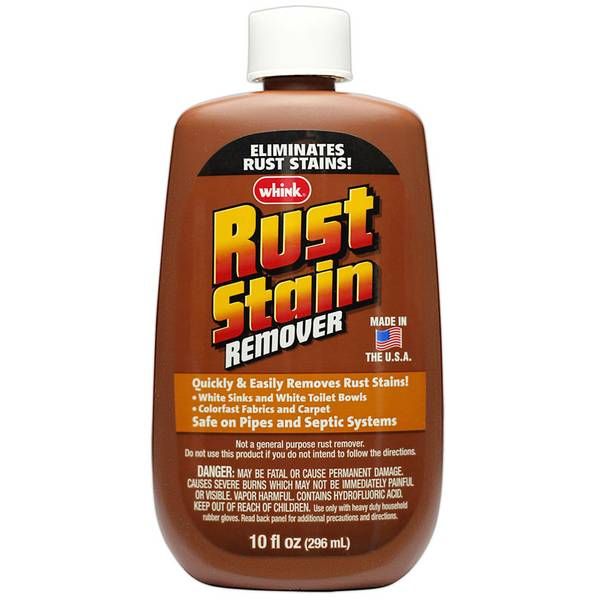 whink rust stain remover instructions