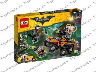 lego batman bane toxic truck instructions