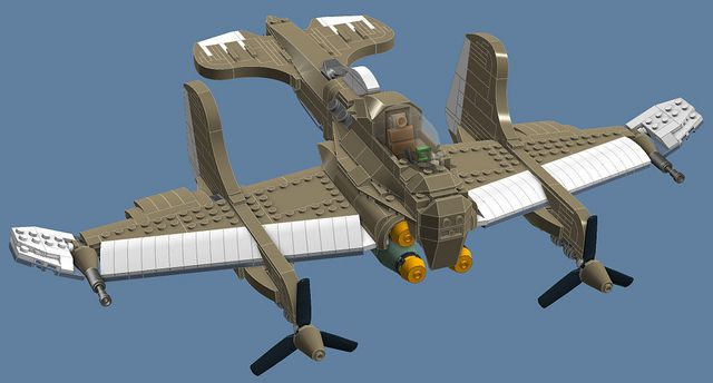 lego instructions simple plane