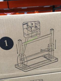 costco carolina bench with back instructions