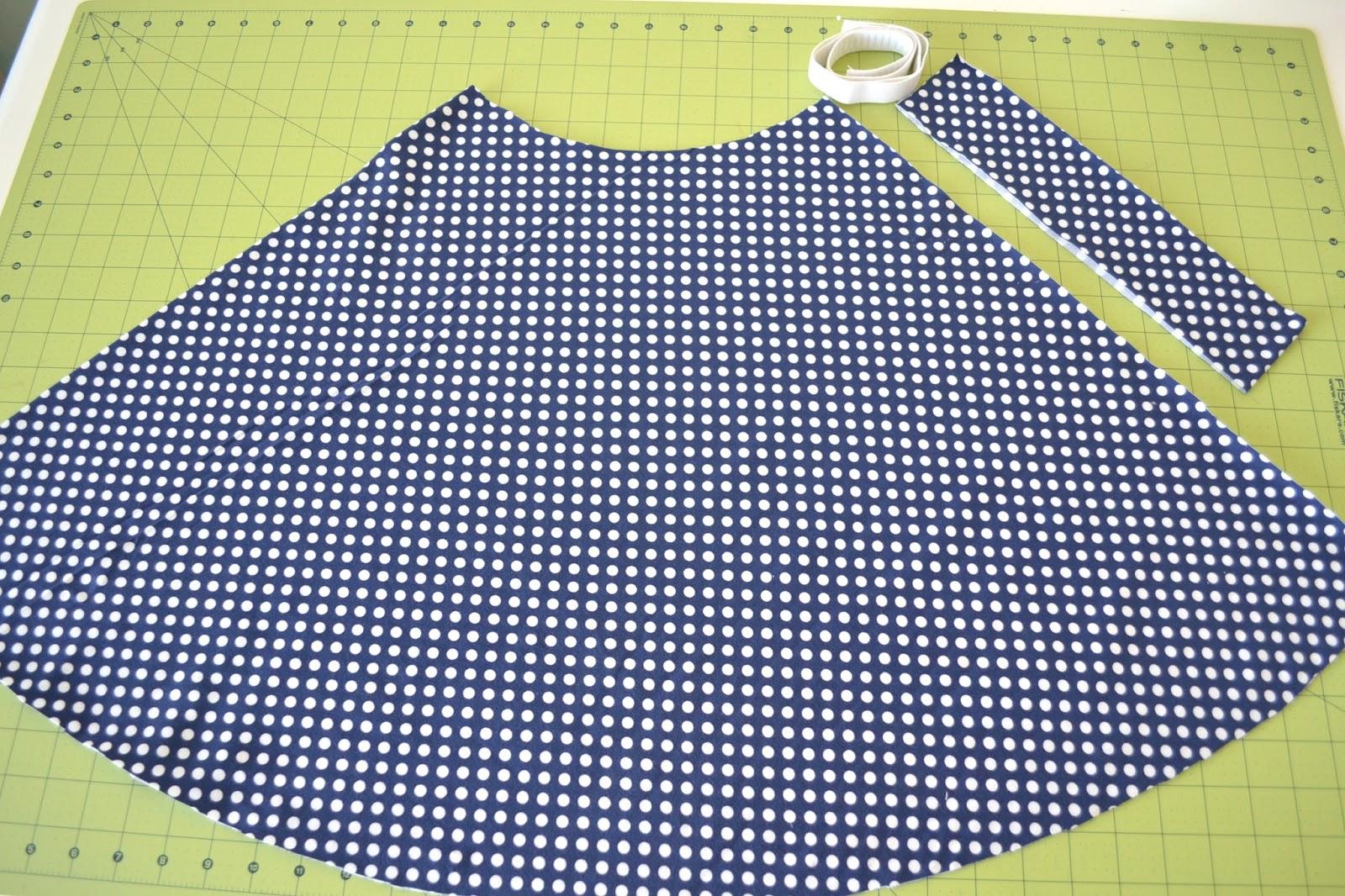 half circle skirt instructions