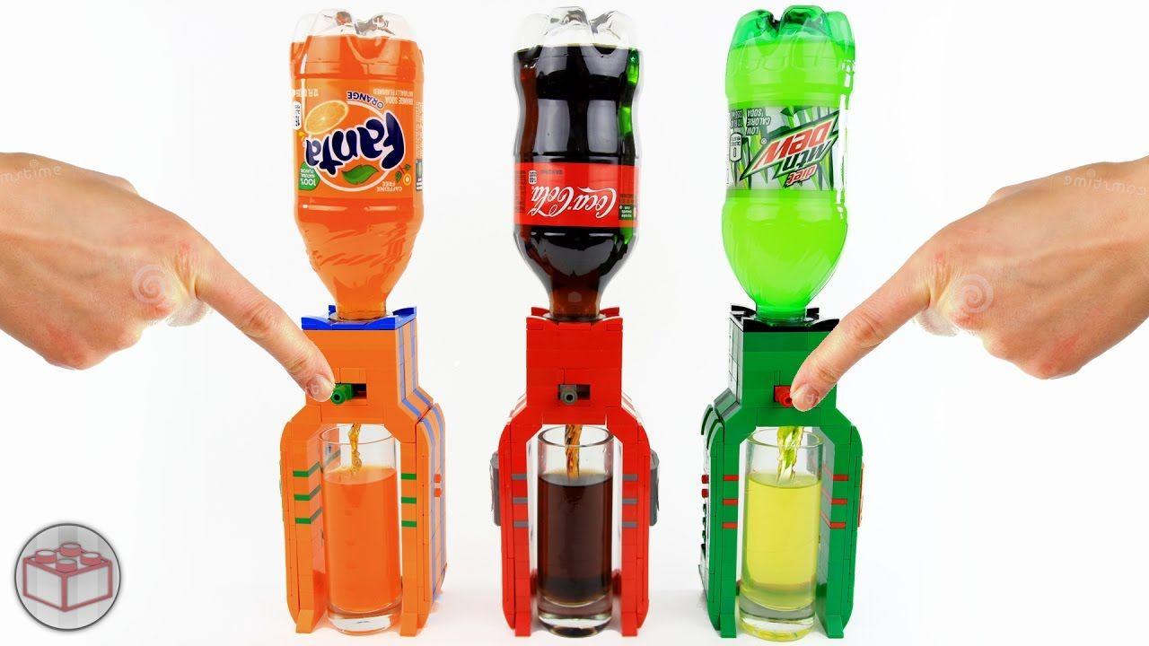 lego drink dispenser instructions