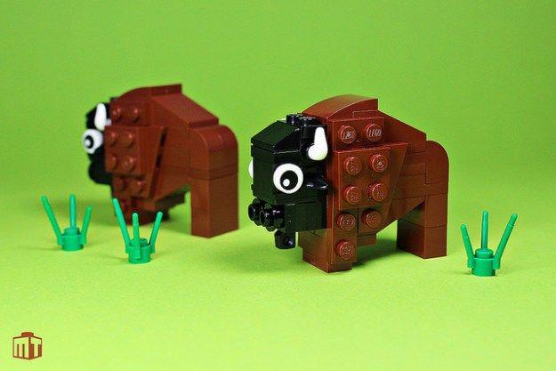 easy lego animal instructions
