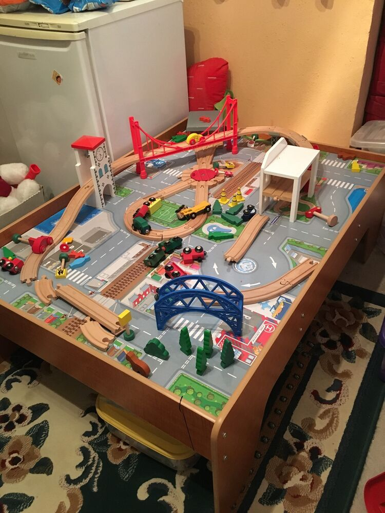 toys r us wooden train table instructions