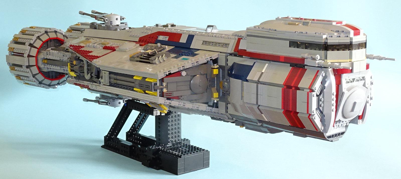lego star wars yellow ship instructions