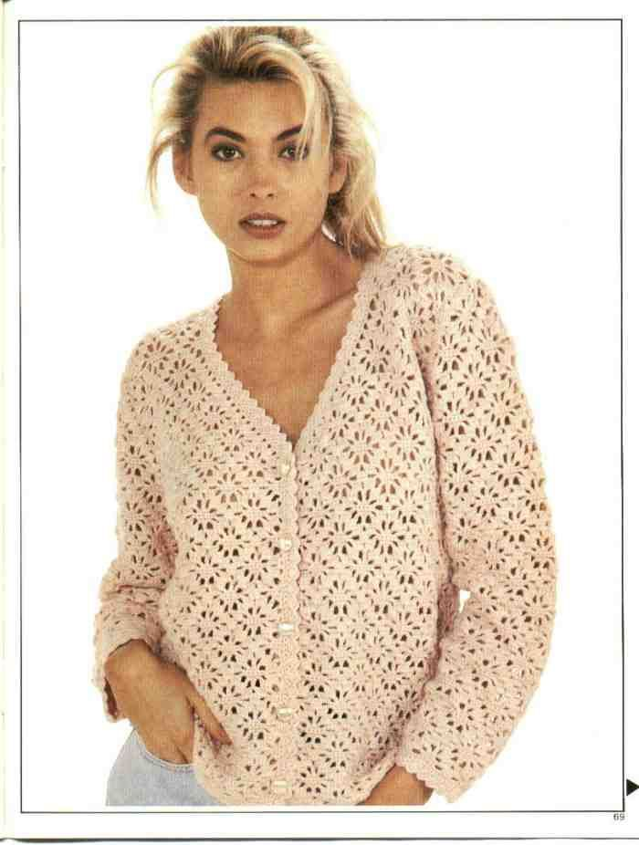 crochet cardigan sweater instructions