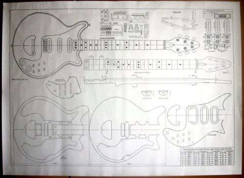 building your own acoustic guitar complete instructions and full-size plans