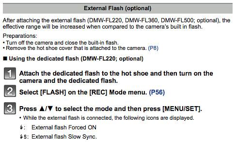 panasonic dcm zs110 operating instruction advanced features