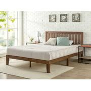 laguna queen platform bed with headboard black woodgrain instructions