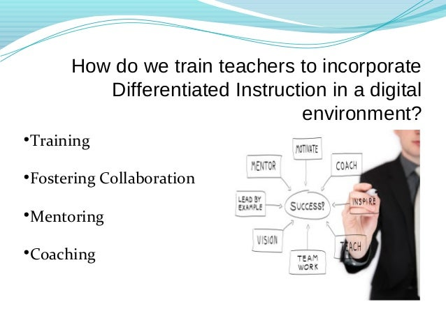 types of learners differentiated instruction